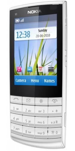 Фото телефона Nokia X3-02 Touch and Type white