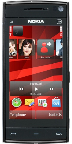 Nokia X6-00 16GB XpressMusic black