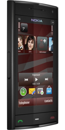Фото телефона Nokia X6-00 16GB XpressMusic black