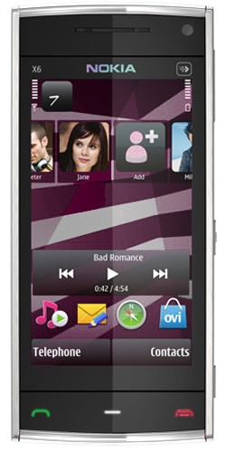Nokia X6-00 16GB XpressMusic white
