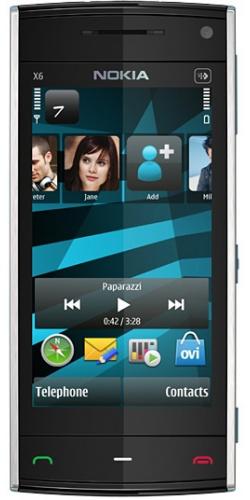 Nokia X6-00 8GB XpressMusic azure
