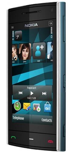 Фото телефона Nokia X6-00 8GB XpressMusic azure
