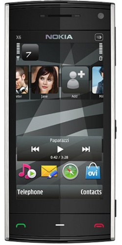 Nokia X6-00 8GB XpressMusic black