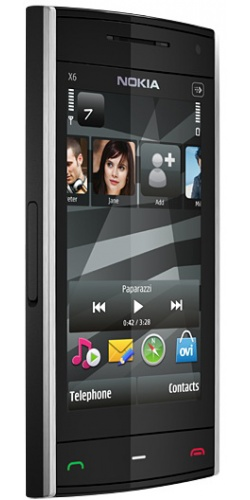 Фото телефона Nokia X6-00 8GB XpressMusic black