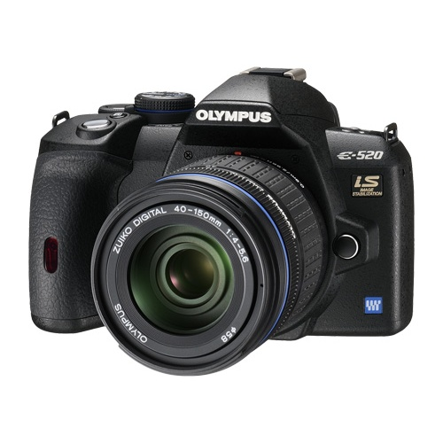 Olympus E-520 (Double Zoom Kit lens 14-42mm + lens 40-150mm)