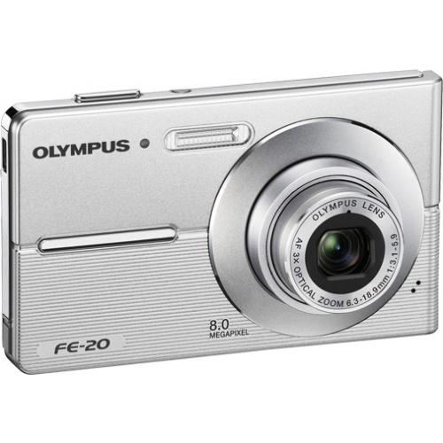 Olympus FE-20 silver