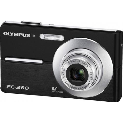 Olympus FE-360 black