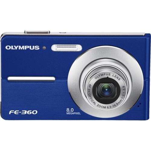 Olympus FE-360 blue