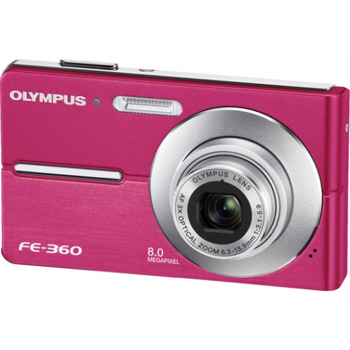 Olympus FE-360 pink