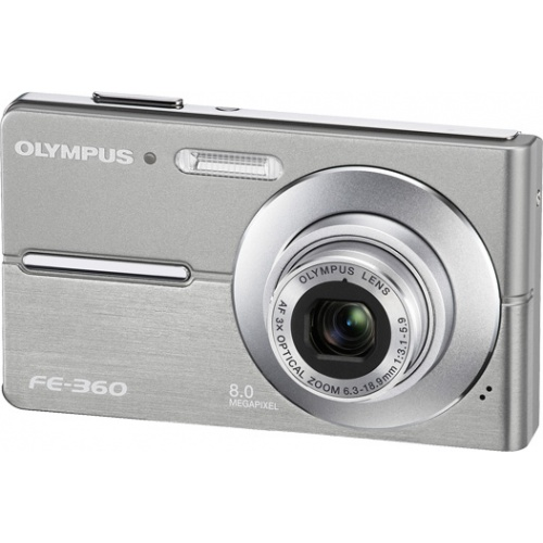 Olympus FE-360 silver