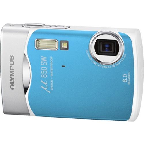 Фото Olympus mju 850SW blue
