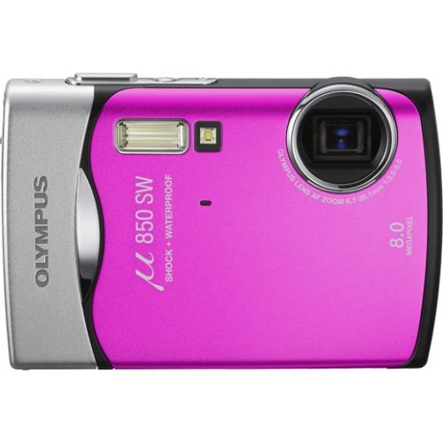 Olympus mju 850SW hot pink