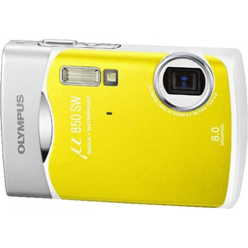 Olympus mju 850SW lemon yellow