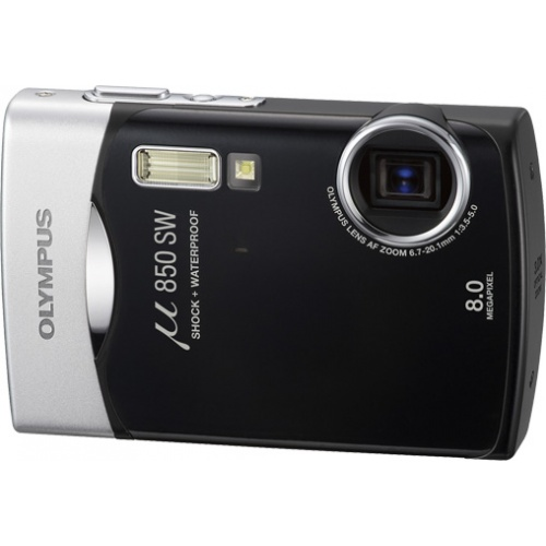 Фото Olympus mju 850SW midnight black