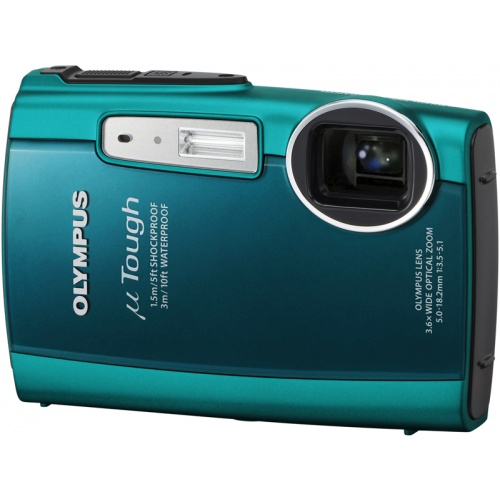 Olympus mju TOUGH-3000 emerald green