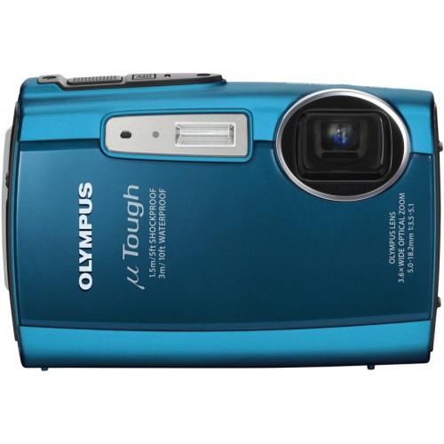 Фото Olympus mju TOUGH-3000 turquoise blue