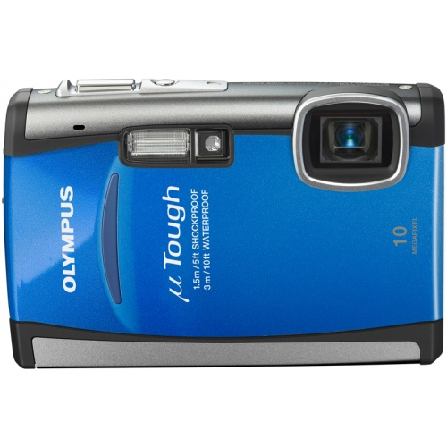 Фото Olympus mju TOUGH-6000 arctic blue