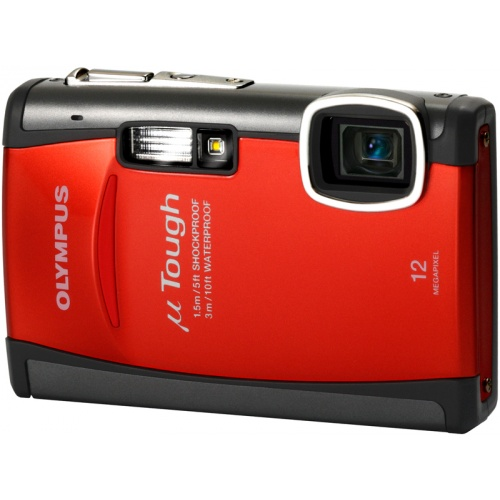 Olympus mju TOUGH-6010 lava red