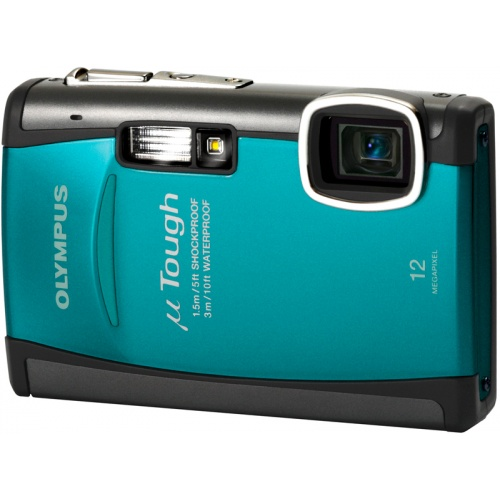 Olympus mju TOUGH-6010 turquoise blue