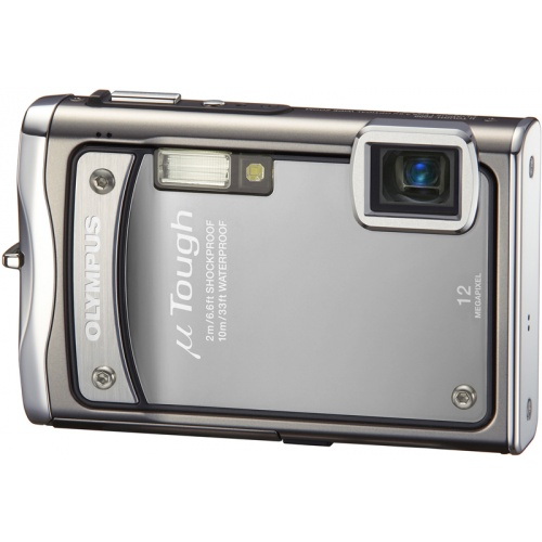 Olympus mju TOUGH-8000 platinum silver