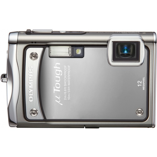 Фото Olympus mju TOUGH-8000 platinum silver