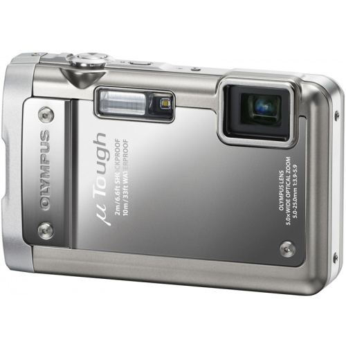Olympus mju TOUGH-8010 platinum silver