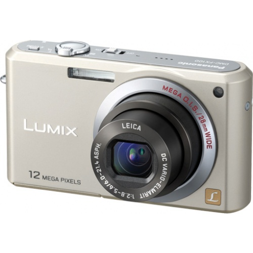 Panasonic Lumix DMC-FX100 gold