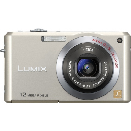 Фото Panasonic Lumix DMC-FX100 gold