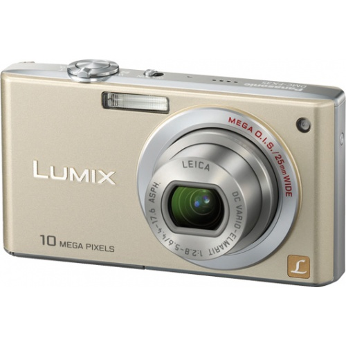 Фотография Panasonic Lumix DMC-FX35 gold