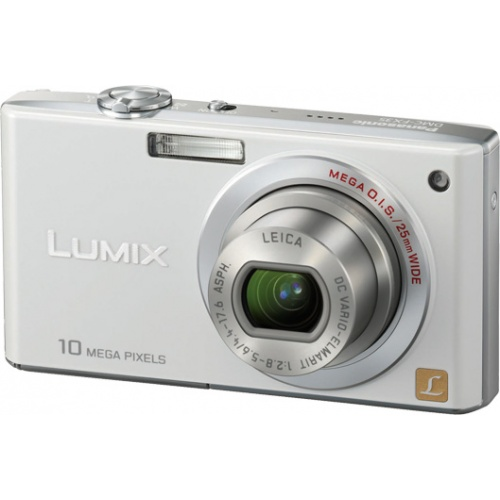 Фотография Panasonic Lumix DMC-FX35 white