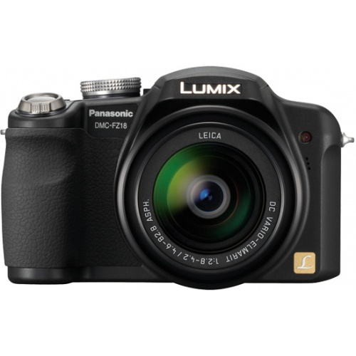 Фото Panasonic Lumix DMC-FZ18 black