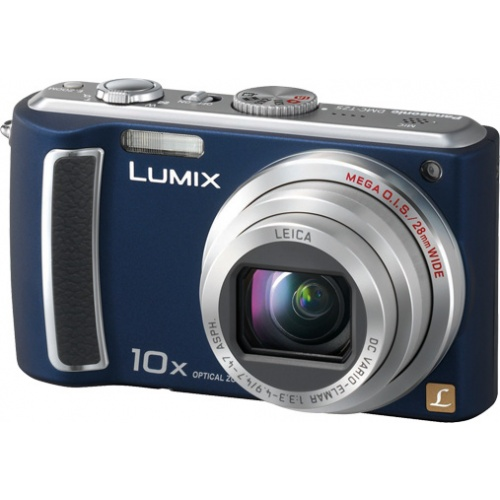 Фотография Panasonic Lumix DMC-TZ5 blue