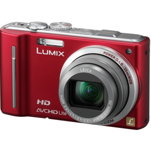 Фотография Panasonic Lumix DMC-TZ10 red