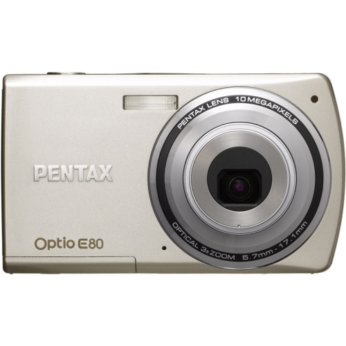 Pentax Optio E80 silver