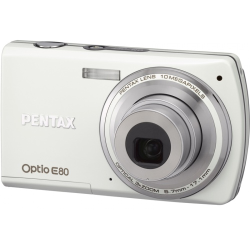 Pentax Optio E80 white
