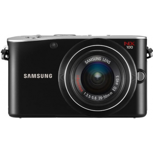 Фото Samsung NX100 Kit 20-50mm black (EV-NX100ZBABUA)