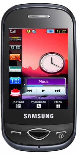 Samsung GT-B3410 Corby Plus black