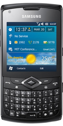Фото телефона Samsung GT-B7350 Witu Pro black