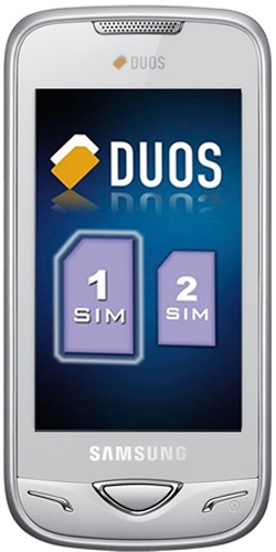 Samsung GT-B7722i Duos white