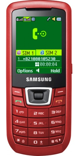 Samsung GT-C3212 Duos red