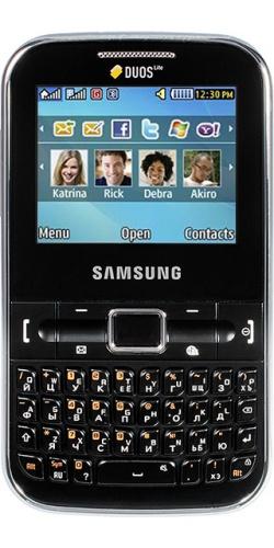 Samsung GT-C3222 black