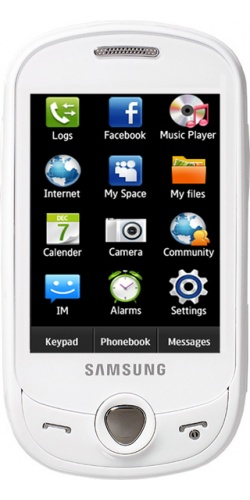 Samsung GT-C3510 Corby PoP (Genoa) chic white