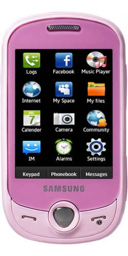 Samsung GT-C3510 Corby PoP (Genoa) sweet pink