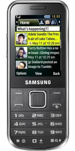 Samsung GT-C3530 chrome silver