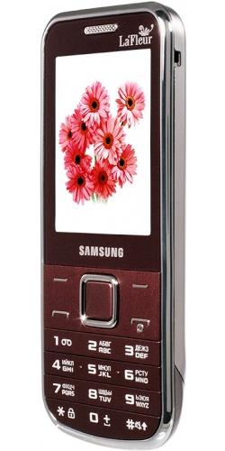 Фото телефона Samsung GT-C3530 wine red