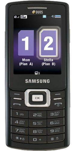Samsung GT-C5212 Duos black