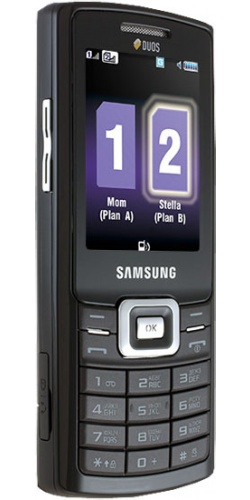 Фото телефона Samsung GT-C5212 Duos black