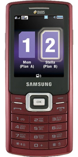 Samsung GT-C5212 Duos red