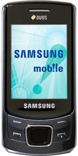 Samsung GT-C6112 Duos blue