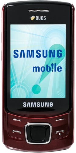 Samsung GT-C6112 Duos deep red